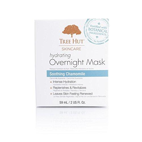 Tree Hut Skincare Hydrating Overnight Mask, Soothing Chamomile, 2 Fluid - Get Hut