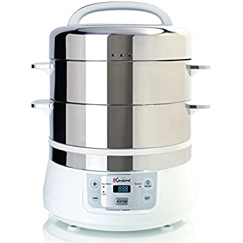 Ovente   Quart  Tier Electric Food Steamer Reviews