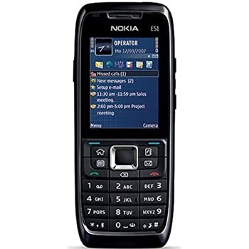 Amazon.com: Nokia E51 Unlocked Phone with 2 MP Camera, 3G