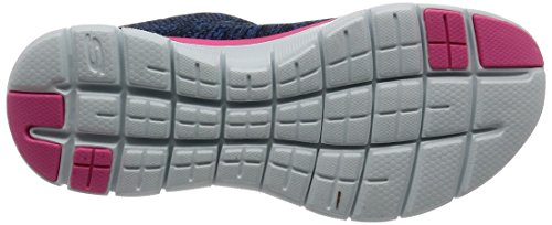 Navy Flex Energy 2 Pink Skechers Zapatillas High Appeal 0 Mujer 7866qC