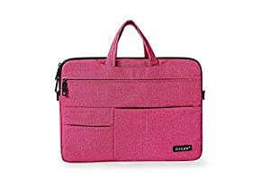 MacBook Air 11 11.6 inch Laptop Sleeve Cover Case Carry Shoulder Messanger Bag Pouch Storage Pink