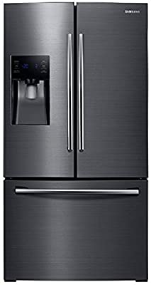 "Samsung Appliance RF263BEAESG 36"" French Door Refrigerator with 25 Cu. Ft. Capacity, in Black Stainless Steel"