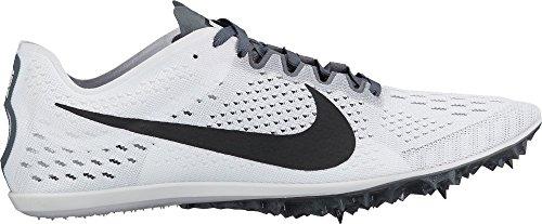 Nike Air Rask Håndtak Hvite Blå Menns Basketball Sko 472633-103 Hvit / Svart