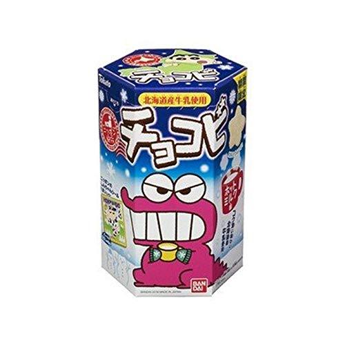 Tohato Chocobi Chocolate Hot Milk flavor Dagashi Japan Snack Crayon Shin-chan Bandai