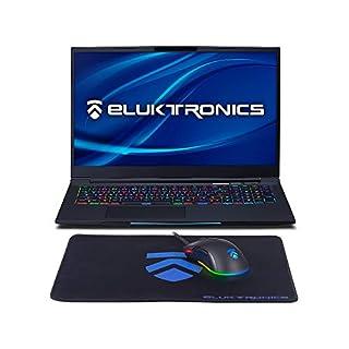 "Eluktronics MECH-17 G1Rx Slim & Light NVIDIA RTX 2080 VR Ready Gaming Laptop with Mechanical RGB Keyboard Intel i7-9750H 17.3"" 144Hz 512GB NVMe SSD + 16GB RAM"