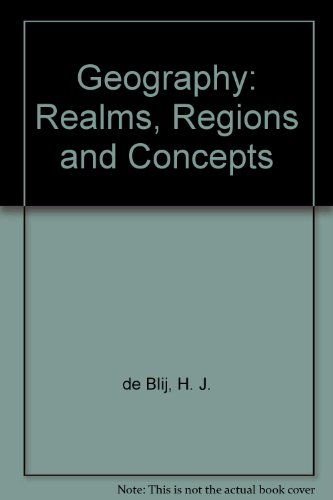 Geography: Realms, Regions, and Concepts Eighth Edition and Goode's World Atlas Set