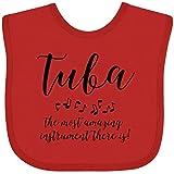 Inktastic Amazing Tuba Baby Bib Red 3932c