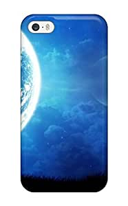 For Iphone 5/5s Tpu Phone Case Cover(fantastic Moon )
