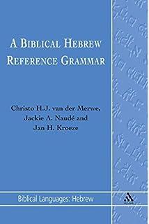 A biblical hebrew reference grammar second edition biblical biblical hebrew reference grammar biblical languages hebrew english and hebrew edition fandeluxe Gallery