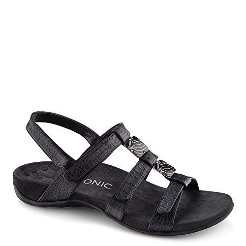 Vionic with Orthaheel Amber Women's Sandal, 8 B(M) US