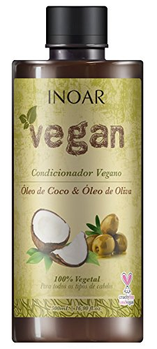 Condicionador Vegan com Óleo de Coco e Oliva 500 ml, Inoar