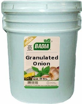 Badia Onion Granulated 20 lbs by Badia
