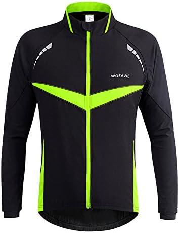Kanqingqing Jersey De Ciclismo Hombres cálidos térmicos de ...