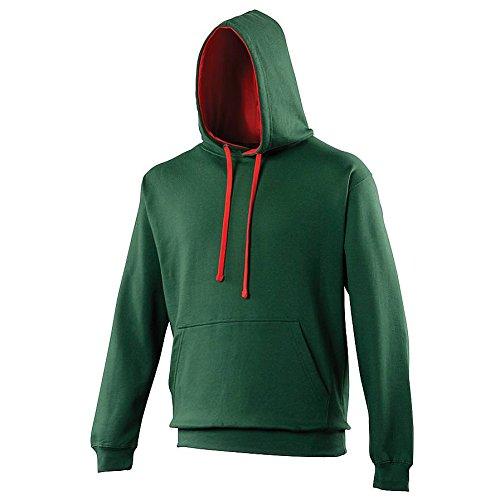 Vif Capuche marine Sweatshirt Française Awdis À Homme Rose CwX4xEgqZ