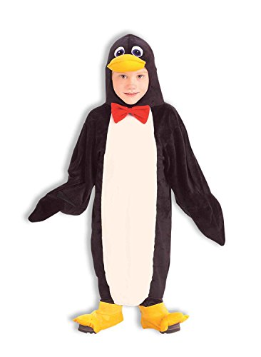 Forum Novelties Plush Cuddlee Penguin Costume, Child Small