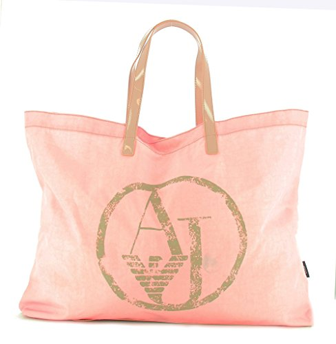 Armani Jeans Lyda Packable Tote, 00677 Lt Pin…