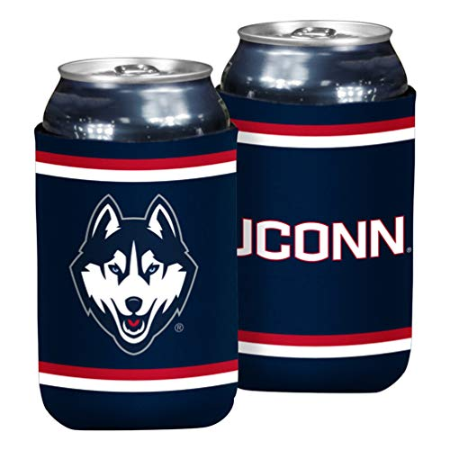 NCAA Connecticut Huskies Flat Drink Coozie
