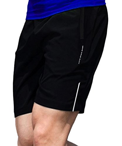 Geval Men's Quick Dry Breathable Gym Running Shorts