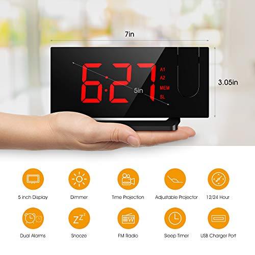 Buy projection alarm clock reviews