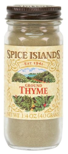 Spice Islands Thyme, Ground, 1.4-Ounce (Pack of 3)