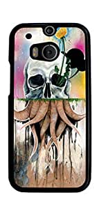 Skull Tattoo Partterned Hard Case for HTC ONE M8 ( Sugar Skull ) by runtopwell