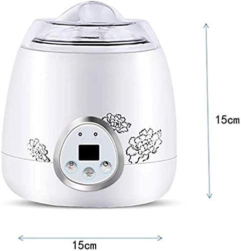 Automatische Zelfgemaakte Yoghurtmachine, Automatische Digitale Yoghurtmachine met Temperatuur, Multifunctionele Natto-Machine, Huishouden 750ML (110v-220v)