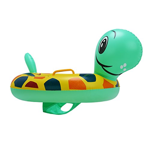 Younglamp Unicorn Baby Float,Inflatable Baby Swimming Float For Age 2-5 years, Color and Styles - Color Tortoise