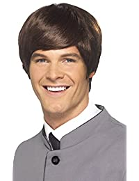 Smiffy's Men's 60's Male Mod Wig Short