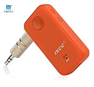nfc enabled bluetooth receiver ixcc bluetooth adapter and hands free car kit. Black Bedroom Furniture Sets. Home Design Ideas