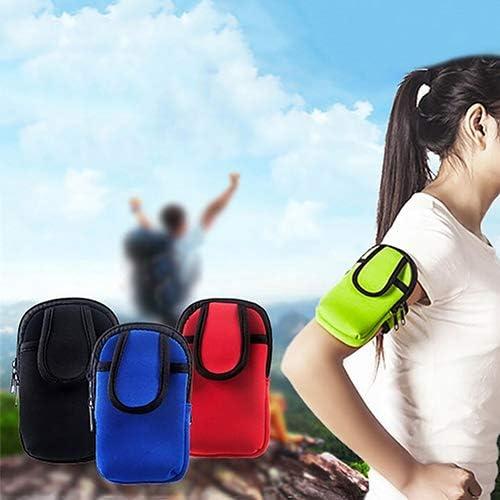 con Gancho para cintur/ón Bolsa de Deportes Cartera Funda para Brazos Bolsa de tel/éfono m/óvil 1 Unidad dljztrade