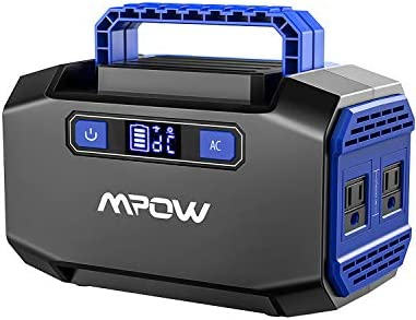 OMORC Mpow Portable Power Station 167Wh 45000mAh Portable Power Supply Lithium Battery Backup
