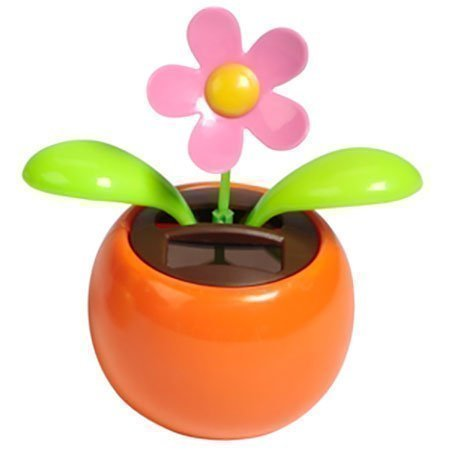 Warm Fuzzy Toys Solar Dancing Flower, Assorted Colors