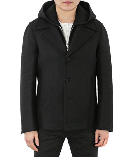 wiberlux-neil-barrett-mens-three-button-neoprene-hood-wool-jacket-46-all-black