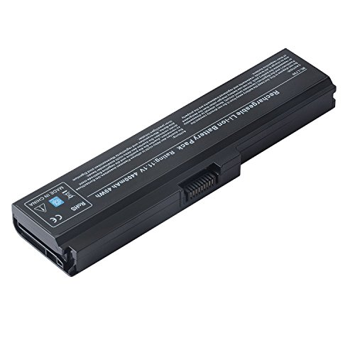 TAUPO New Laptop Battery for Toshiba PA3817U-1BRS PA3817u-1bas PA3819U-1BRS Satellite C655 L600 L670 L675 L675D L700 L735 l740 L745 L745D L750 L750D L770 L755 L775 L755D P775 M640 M645 P745 Series (Toshiba Computer Battery)
