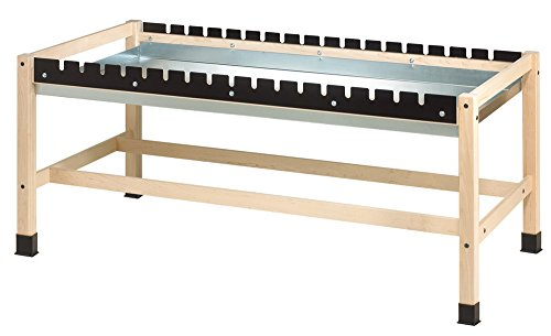 Diversified Woodcrafts GCT-DP Side Clamp Glue Bench with Drip Pan, 72