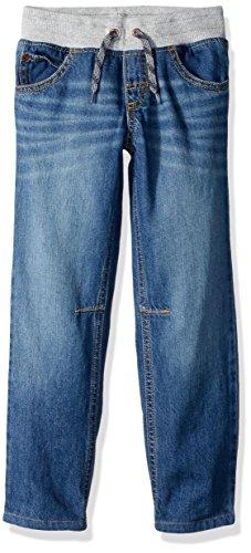 Boys Denim Pant (Crazy 8 Toddler Boys' Pull-On Lined Jeans, Medium Wash Denim, 3T)