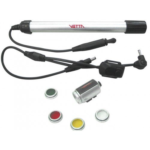 Vetta Nano Lux 3 Watts with Interchangeable Lens andTube Pack  Headlight