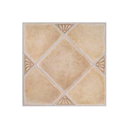 Amazon.com: Madison Vinyl Self Stick Floor Tile 7985 Home Dynamix ...