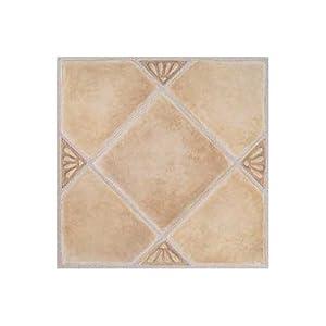 Amazon.com: Madison Vinyl Self Stick Floor Tile 7985 Home