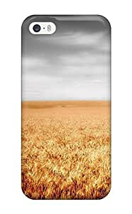 Fashionable HiuyCgL12420JvtnA Iphone 5/5s Case Cover For Field Earth Clouds Nature Other Protective Case