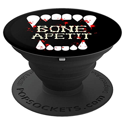 Funny Bones Appetite Vampire Teeth Halloween Gifts PopSockets Grip and Stand for Phones and Tablets ()
