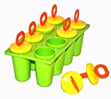 7SEVEN HUNDRED Candy Kulfi Maker Popsicle Mould Set Ff 8 (Available Color Will Be Sent)