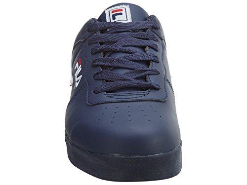 Fila Hombres Forward 2 Running Shoe Fila Azul Marino, Blanco, Rojo Fila