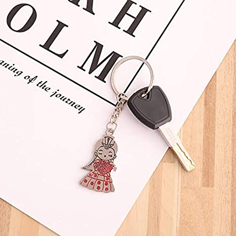 Amazon.com: MAGA 1 2PCS Hot Lovers Couple Keychain Trinket ...