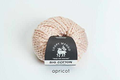 Loopy Mango DIY Knit Kit - Cotton Mini Market Bag (APRICOT) by Loopy Mango (Image #5)