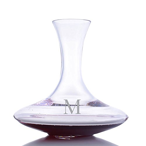 Personalized Riedel Crystal Ultra Magnum Wine Decanter Engraved & Monogrammed - Great Gift for Father's Day, Weddings and Groomsmen ()
