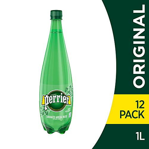 (Perrier Sparkling Mineral Water, 33.8 fl oz. Plastic Bottles (Pack of 12))