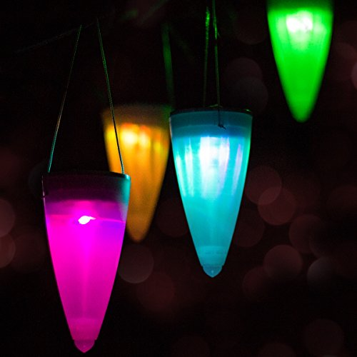Living Solar Colour Change Plastic Lights