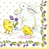 Classic Easter Lunch Napkins 18 Per Pack