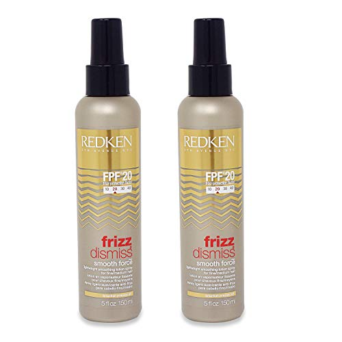 Redken Frizz Dismiss FPF 20 Smooth Force Smoothing Spray 5 oz (Pack of 2)